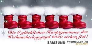 Weihnachten Logojagd 2020 Abschlussbericht / IB