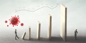 ICT-Index: Corona hat Dominoeffekt ausgelöst