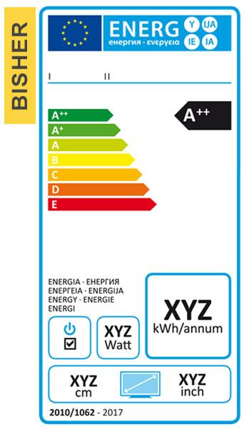 Energieeffizienz-Label alt