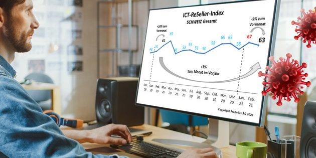 ICT-Index: Digitaltechnik hat Corona aufgefangen