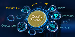 ICT-Index: Trend zu mehr Qualität in der IT