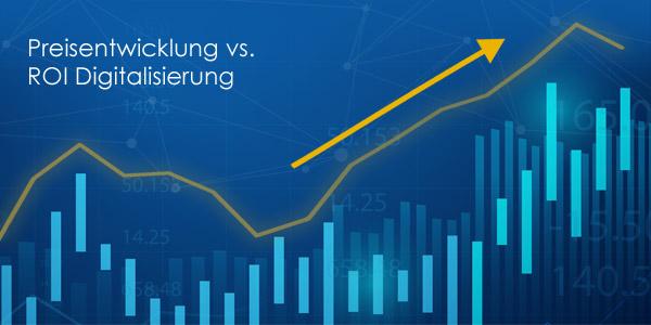 ICT-Index August 2021: Preisanstieg um fast 20 Prozent