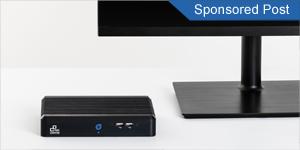Lautloser schlanker Schweizer Mini PC