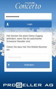 1 Concerto Mobile App Login
