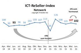 ICT-ReSeller Index Juni 2015 / Netzwerk
