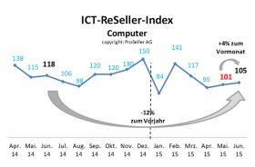 ICT-ReSeller Index Juni 2015 / Computer
