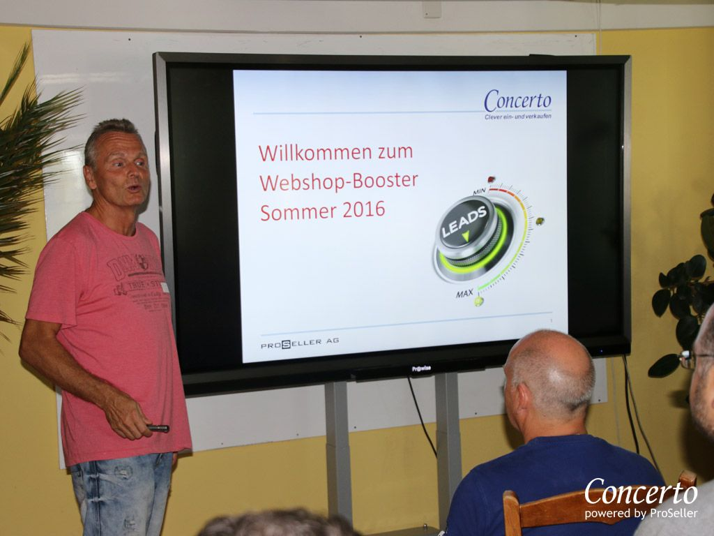 Concerto Webshop-Booster 13.09.2016