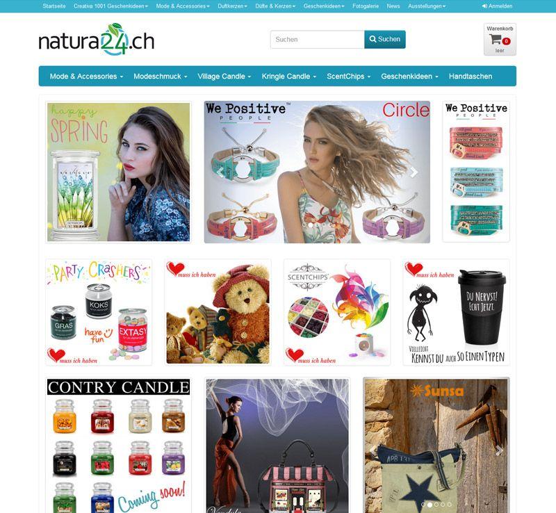 Concerto WebShop natura24.ch